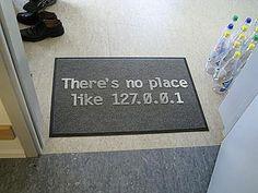 computer programmers floor mat