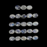 RAINBOW MOONSTONE CABS OVAL 7X5MM APPROXIMATELY  20 CARATS