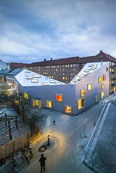 Ama'r Children's Culture House, Dyssegård, Denmark by Dorte Mandrup Architects