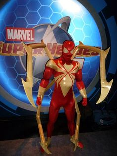 The Iron Spider-Man, cosplayed by BatmanBeyond-08