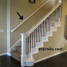1000 images about railings on pinterest wrought iron - Interior stair railing contractors ...