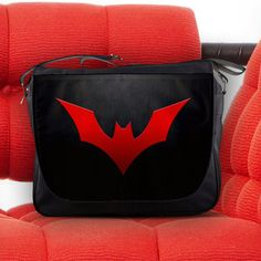 Batman Beyond of the Future Justice League Messenger Sling Laptop Notebook Bag in Computers/Tablets & Networking | eBay