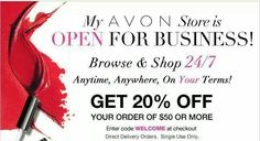 Visit me today @ www.youravon.com/fredbrown
