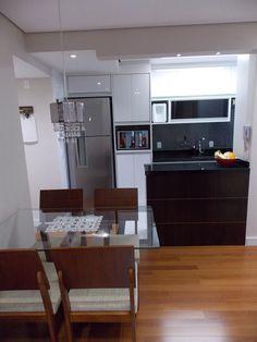 Sala de estar e jantar - apartamento Danilo e Daiane  Projeto: Sergio R. Pereira Designer de Interiores Fone: (11) 95475-7897 projeto@sergiorpereira.com.br