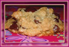 OUTRAGEOUS OATMEAL PEANUT BUTTER CHOCOLATE CHIP COOKIES