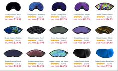 http://www.dreamessentials.com/category-3/all-sleeping-masks good sleep masks at DreamEssentials.com This site has some really good sleep masks. If you need one then definitely go to http://www.dreamessentials.com/category-3/all-sleeping-masks?