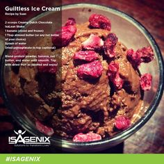 Are you going to try this Guiltless Ice Cream recipe?