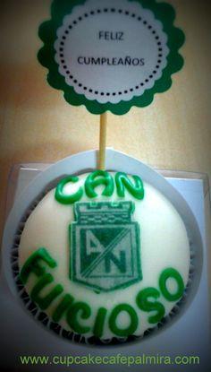 Cupcake Fan Atletico Nacional #cupcakessoccer #cupcakescan #cupcakefuicioso