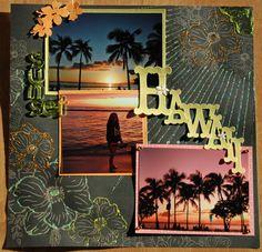 Hawaii Sunset - Scrapbook.com