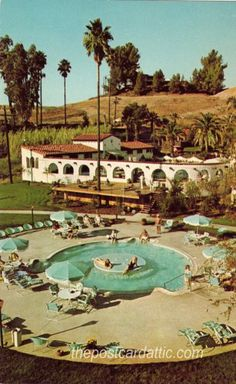 Guenther's Murrieta Hot Springs (1960s), Murrieta, California This is now the Bible College. This is where i lived