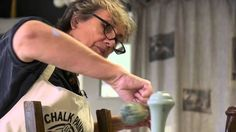 Annie Sloan demonstrates how to stencil on furniture using her decorative paint, Chalk Paint®. In this first of two videos, she shows you how to choose a colour palette that works and how to paint your first coat.
