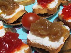 Cebolla caramelizada mermelada de cebolla con Thermomix Tapas, Vinager, Canapes, Sandwich Recipes, Sandwiches, Cheesecake, Good Food, Appetizers, Pudding