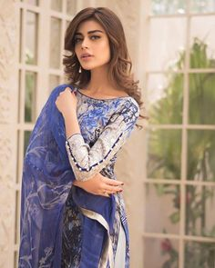 Best 12 looks as stunning as ever for x latest collaboration ❤️❤️ Pakistani Formal Dresses, Pakistani Fashion Casual, Pakistani Dress Design, Pakistani Outfits, Indian Outfits, Indian Dresses, Frock Fashion, Beachwear Fashion, Fashion Outfits