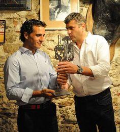 FOTO. Ivan Fandiño recibe el premio de la Peña Taurina de Dax