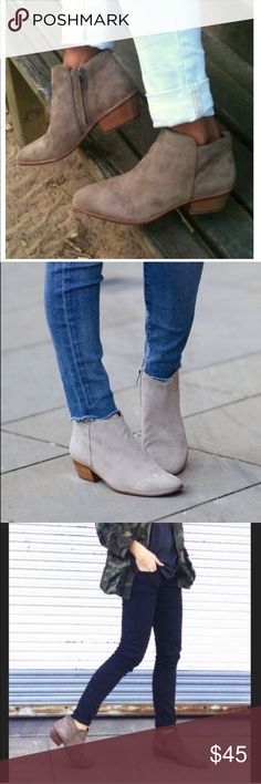 c4e2ee8a0 *blogger's favorite* Sam Edelman Petty Booties Cute, neutral colored boots.  I have