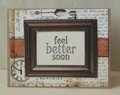 Feel Better Soon Card - Scrapbook.com - #scrapbooking #cardmaking #kandcompany