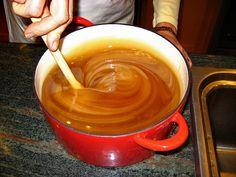 How to make spun honey, or thick creamed honey