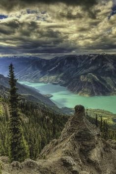 Seton Ridge Trail, British Columbia, Canada.