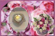 Judith Ripka Sterling Gemstone Doublet Heart Ring Retired Size 7 #JUDITHRIPKA