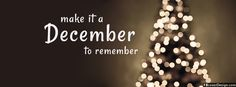 Make It December To Remember Facebook Timeline Cover | fbcoverdesign.com