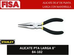 "ALICATE PTA LARGA 8"" 84-102. Alicate de punta larga con mandibula- FERRETERIA INDUSTRIAL -FISA S.A.S Carrera 25 # 17 - 64 Teléfono: 201 05 55 www.fisa.com.co/ Twitter:@FISA_Colombia Facebook: Ferreteria Industrial FISA Colombia"