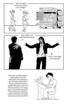 """(TCC) Quadrinhos Nacionais: Uma Perspectiva Estrangeira (UNIVAP), """"preview"""" de Carlos Campos PG09"""