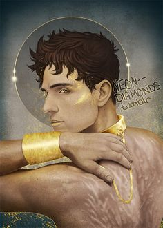 Damen from Captive Prince by C.S. Pacat.