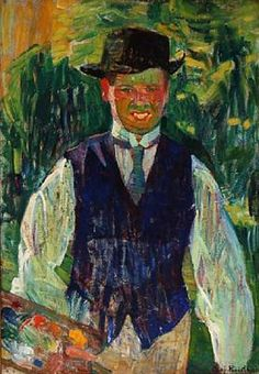 Olaf Rude (Danish, 1886–1957)  Self Portrait