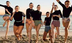 Liu Wen, Ashley Graham, Kendall Jenner, Gigi Hadid, Imaan Hammam, Vittoria Ceretti, Adwoa Aboah by Inez and Vinoodh for Vogue US March 2017.