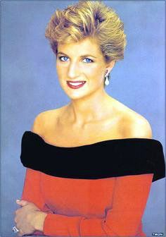 Princess Diana;s Photo on the walls of Leicestershire Aids Support Service