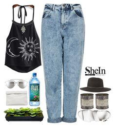 shien halter print top contest by xn3bula-dreamer182x on Polyvore featuring polyvore, fashion, style, Topshop, Windsor Smith, Marie Turnor, rag & bone, Christian Dior, Le Labo and clothing