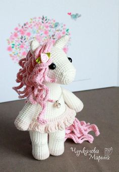 PATTERN Caramel the little pony PDF crochet toy pattern
