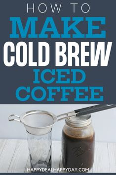How To Make Simple Cold Brew Iced Coffee Comes with a free printable recipe card you can attach as a gift idea! Chocolate Desserts, Fun Desserts, Dessert Recipes, Drink Recipes, Printable Recipe Cards, Free Printable, Savory Breakfast, Breakfast Recipes, Cold Brew Iced Coffee