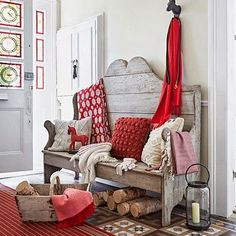 Vicky's Home: Rojo vintage /I love red vintage