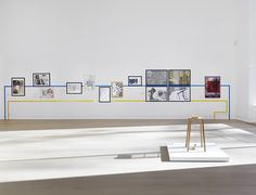 Installation of Sigmar Polke Selling Exhibition