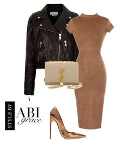 """""""Untitled #198"""" by abiigracee on Polyvore featuring Étoile Isabel Marant, Yves Saint Laurent and Brian Atwood"""