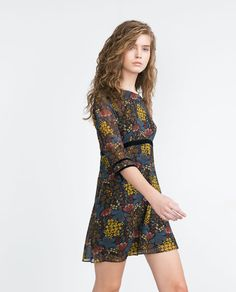Image 3 of PRINTED DRESS from Zara