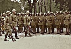 Wilhelm II inspects in Mitau by KraljAleksandar.deviantart.com on @deviantART Emperor Wilhelm II inspects in Mitau (now Jelgava in Latvia), together with General von Hutier prepared troops on the station during his visit to the 8. Army on July 30, 1917.