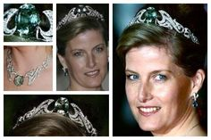 Inglaterra - The Aquamarine Necklace Tiara