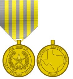 Texas National Guard Oustanding Service Medal