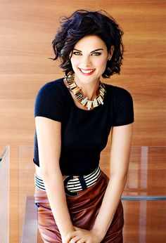 Black top is not 3 but the ovrall look ...jaimie alexander ; : Photo
