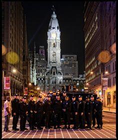 Philadelphia Police Swat City Hall by Phillycop, via Flickr