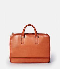 Fulton Leather Darrow Brief