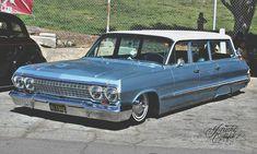 Chevy wagon (63 I think)