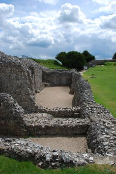 Old Sarum, Wiltshire. One of my favorite travel days. My hungover friend puked in the old castle (fort) ruins and I ran around in the fog and slipped in the mud.
