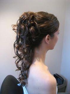Hair, Updo, Wedding