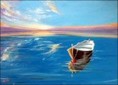 Sound of Silence - Oils on canvas 50x70 cm by sabb