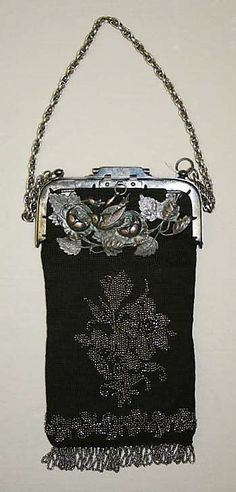 Purse  Date: 1700–1939 Culture: American Medium: metal