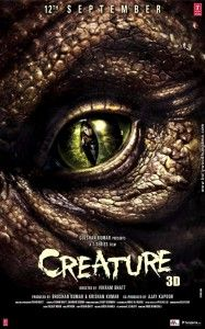 Creature is the Bollywood upcoming monster thriller science fiction film which is being directed by Vikram Bhatt. And today, the first look poster and the official theatrical trailer of the movie Creature has been released. The movie is now all. Creature Movie, Creature 3d, Indian Movie Songs, Hindi Movie Song, New Movie Posters, New Poster, Bollywood Posters, Sci Fi Thriller, Free Songs