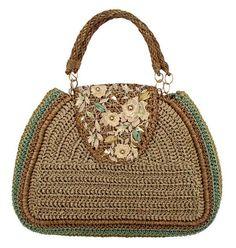 Free Crochet Bag Patterns Part 11 - Beautiful Crochet Patterns and Knitting Patterns Crochet Wallet, Free Crochet Bag, Crochet Tote, Crochet Handbags, Crochet Purses, Crochet Accessories, Bag Accessories, Homemade Bags, Art Bag